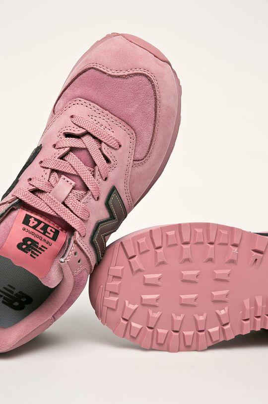 roz New Balance - Pantofi WL574LDJ