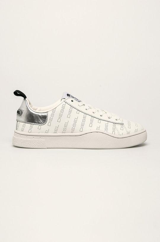 bílá Diesel - Kožené boty Dámský