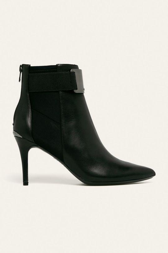 negru Calvin Klein - Cizme de piele De femei
