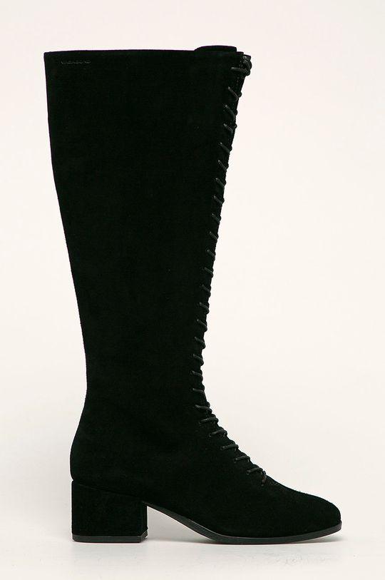 чорний Vagabond - Шкіряні чоботи Daisy Жіночий