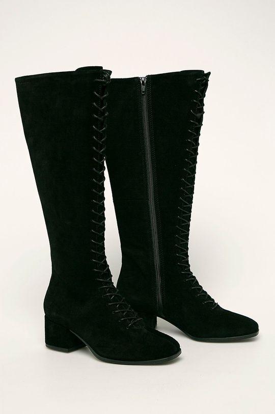 Vagabond - Шкіряні чоботи Daisy чорний