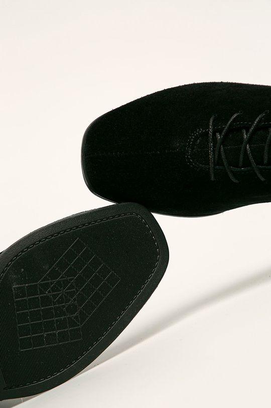 чорний Vagabond - Шкіряні чоботи Daisy