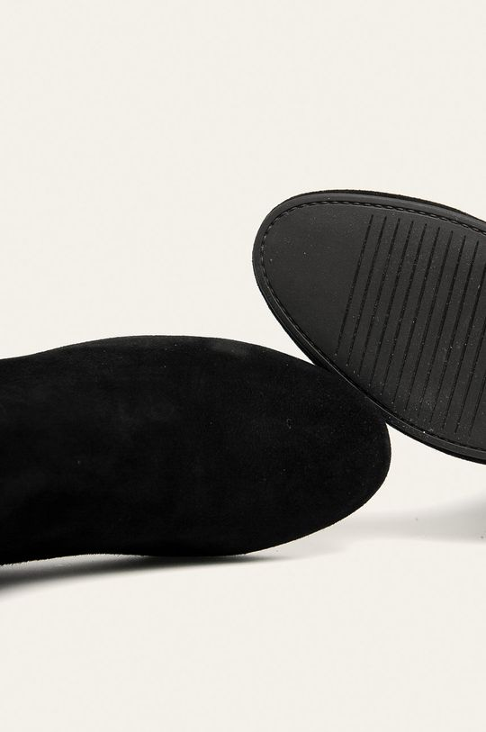 negru Vagabond - Ghete de piele Jamilla
