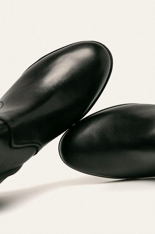 negru Geox - Cizme de piele