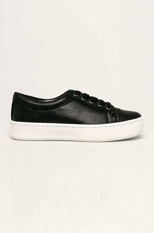 černá Calvin Klein - Kožené boty Dámský