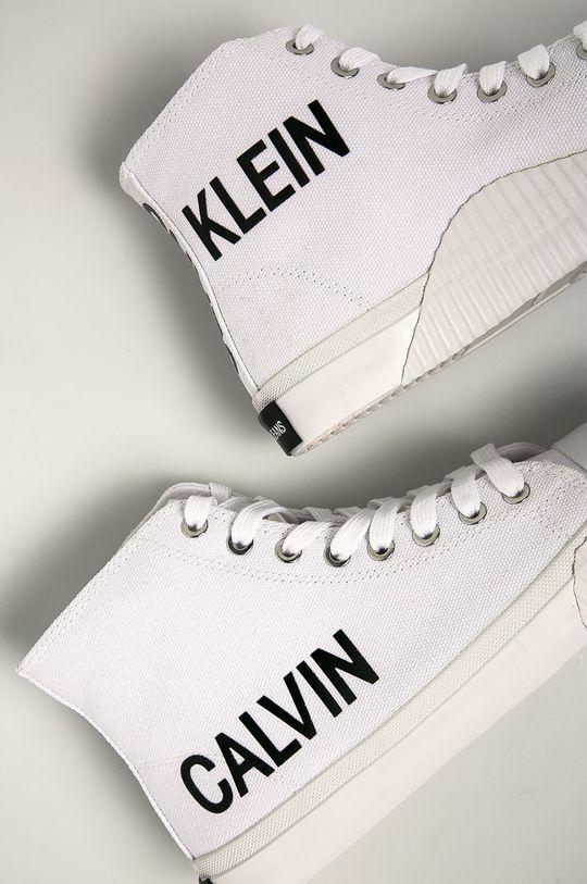bílá Calvin Klein Jeans - Tenisky