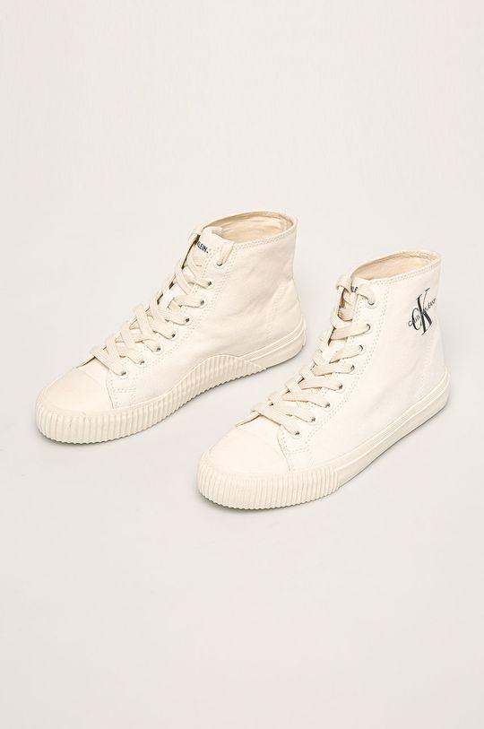 Calvin Klein Jeans - Tenisi alb