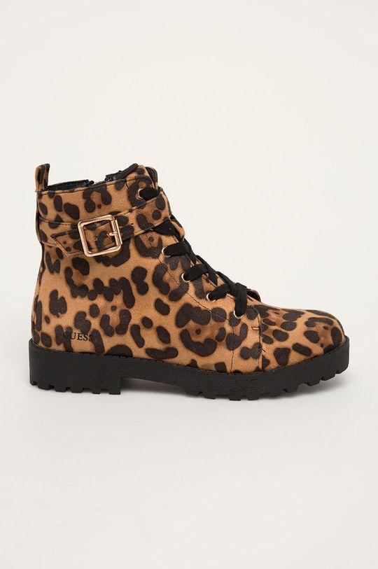 коричневий Guess Jeans - Дитячі черевики Для дівчаток