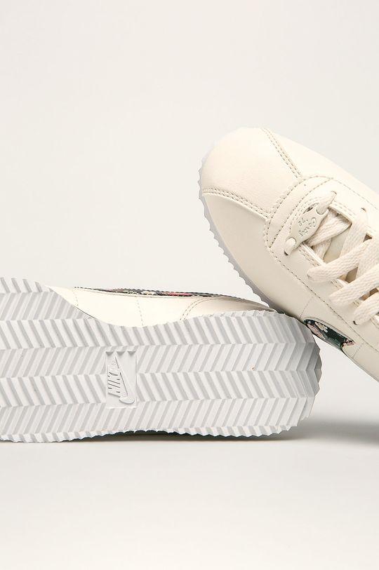 smetanová Nike Kids - Dětské boty Cortez Basic Ltr Vf
