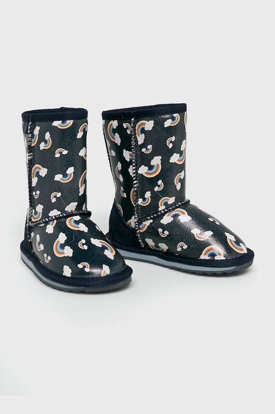 Emu Australia - Dětské boty Rainbow námořnická modř