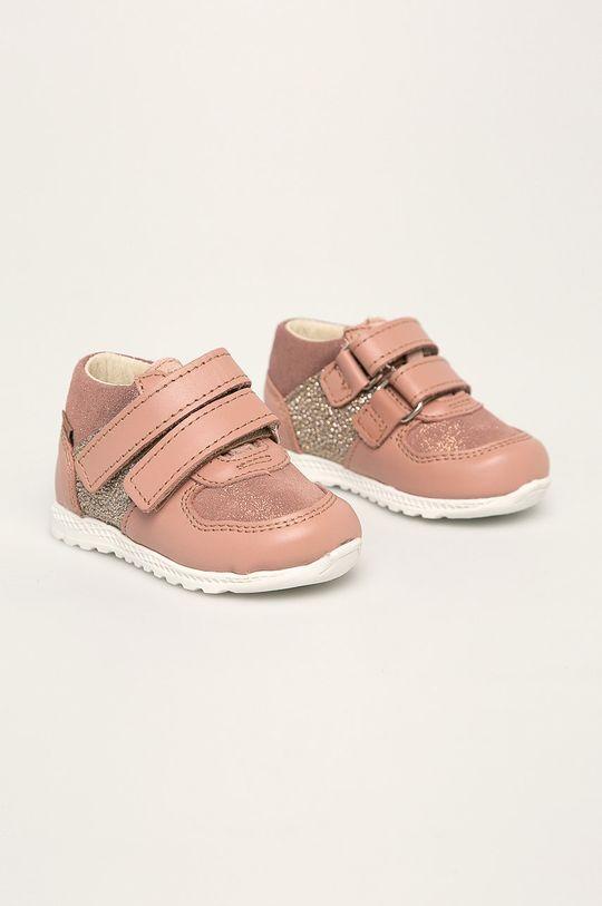 Mrugała - Detské topánky pastelová ružová