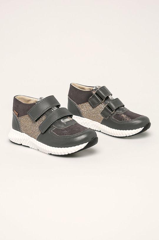 Mrugała - Detské topánky sivá