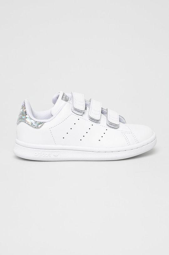 bílá adidas Originals - Dětské boty Stan Smith Dívčí
