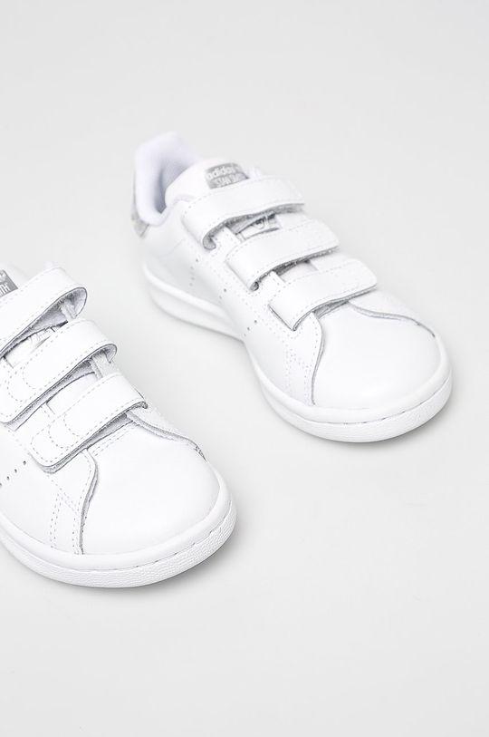 adidas Originals - Dětské boty Stan Smith Svršek: Umělá hmota, potahová kůže Podrážka: Umělá hmota Vložka: Textilní materiál
