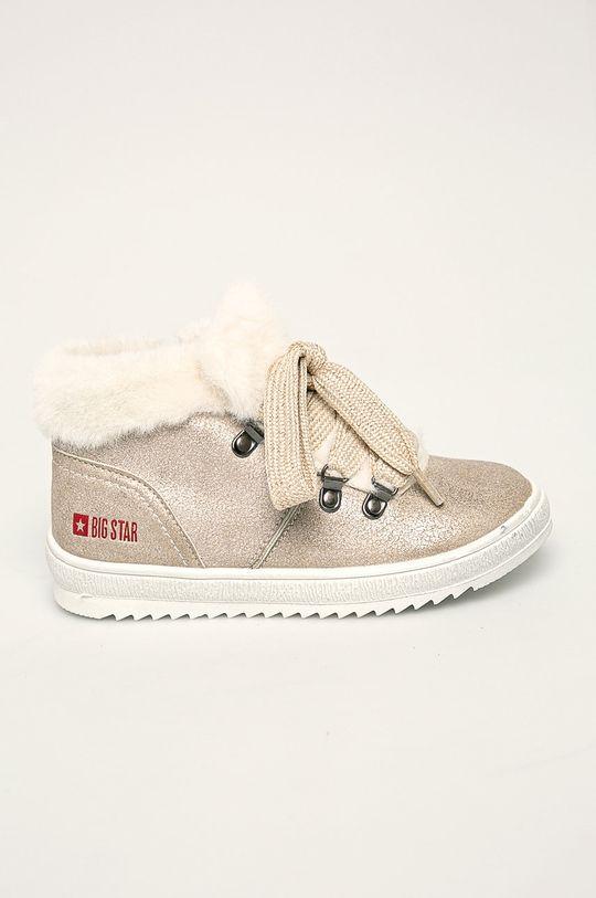 золотий Big Star - Дитячі черевики Для дівчаток