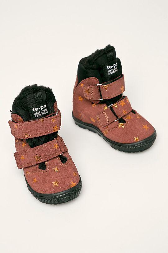 Mrugała - Дитячі черевики лілово-рожевий