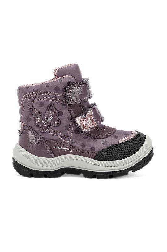 лавандовий Geox - Дитячі черевики Для дівчаток