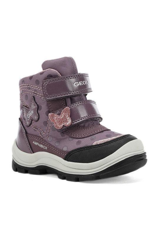 Geox - Дитячі черевики лавандовий