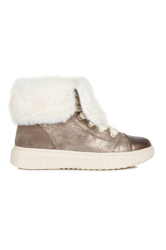 béžová Geox - Detské topánky Dievčenský