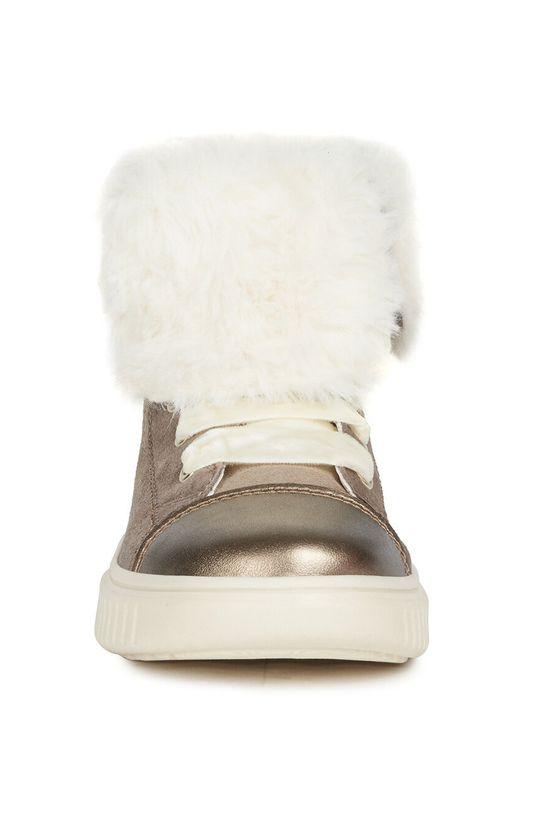 Geox - Detské topánky  Zvršok: Syntetická látka, Prírodná koža Vnútro: Syntetická látka, Textil Podrážka: Syntetická látka