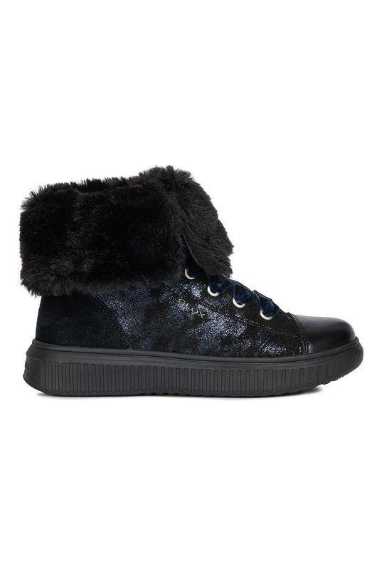 čierna Geox - Detské topánky Dievčenský