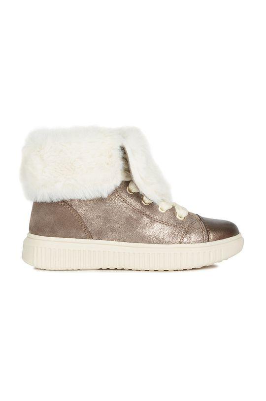 бежевий Geox - Зимове взуття Для дівчаток