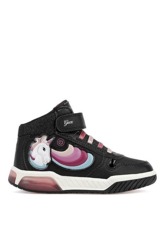 черен Geox - Детски обувки J94ASB.0CE54.28.31 Момиче