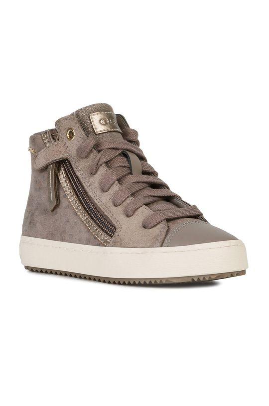 Geox - Detské topánky svetlosivá