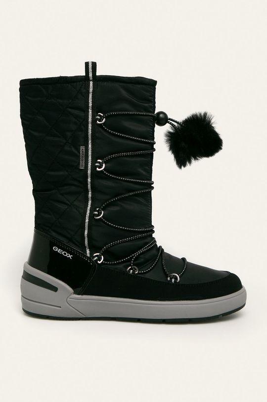 чорний Geox - Дитячі чоботи Для дівчаток