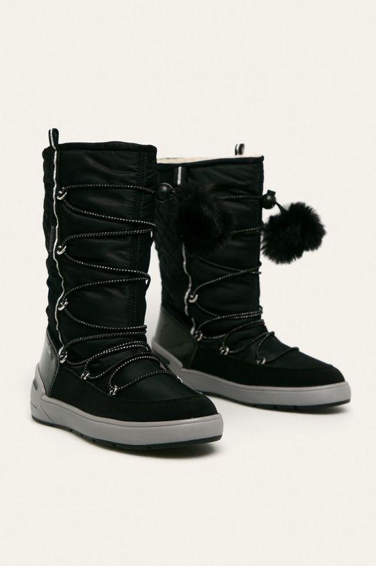 Geox - Дитячі чоботи чорний