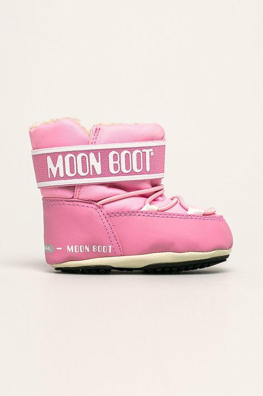 roz Moon Boot - Cizme de iarna copii Crib 2 De fete
