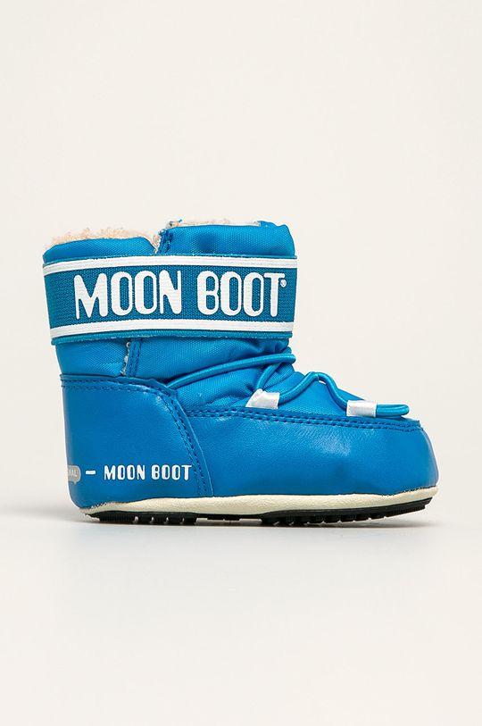 albastru Moon Boot - Cizme de iarna copii Crib 2 De fete