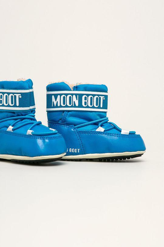 Moon Boot - Cizme de iarna copii Crib 2 albastru