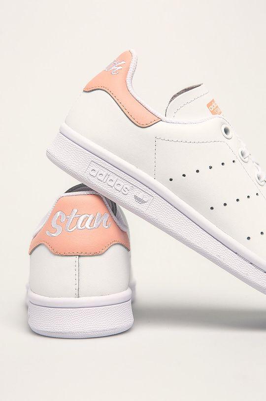 adidas Originals - Дитячі черевики  Stan Smith  Халяви: Натуральна шкіра Внутрішня частина: Текстильний матеріал Підошва: Синтетичний матеріал