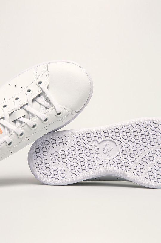 білий adidas Originals - Дитячі черевики  Stan Smith
