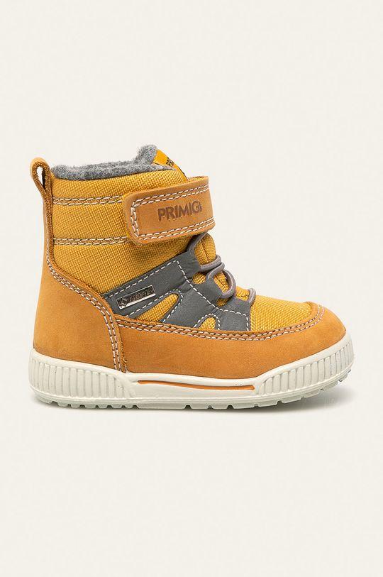 žlutá Primigi - Dětské boty Dívčí