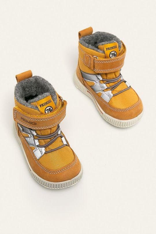 Primigi - Dětské boty žlutá