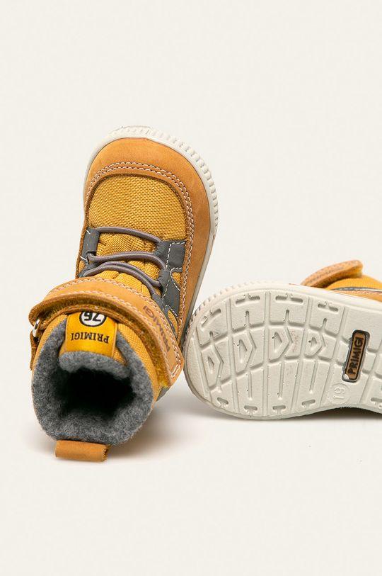 žlutá Primigi - Dětské boty