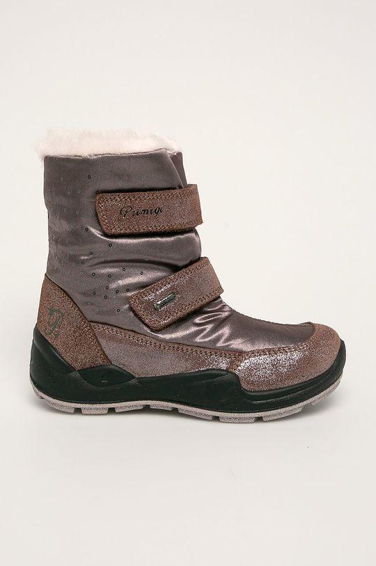 hnědá Primigi - Zimní boty Dívčí