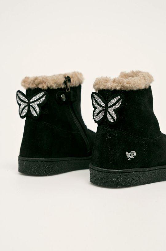 Primigi - Detské topánky  Zvršok: Semišová koža Vnútro: Textil, Prírodná koža Podrážka: Syntetická látka
