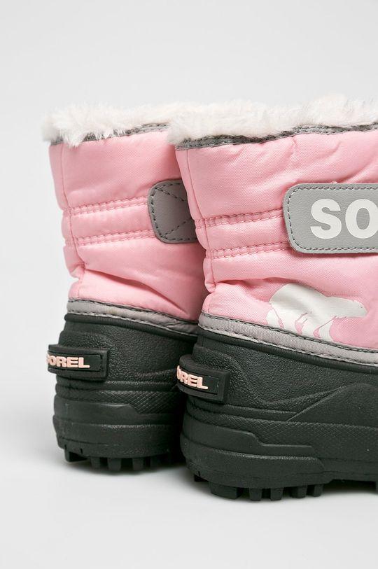 рожевий Sorel - Зимове взуття Childrens Snow Commander