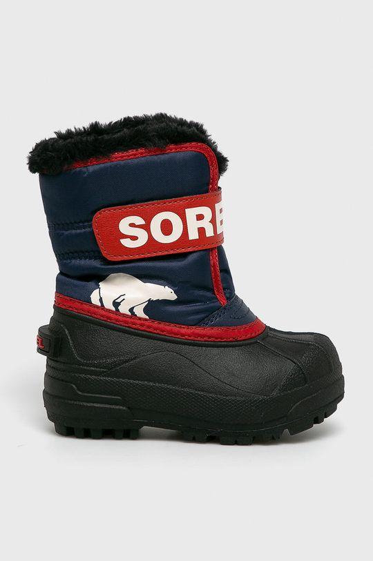 bleumarin Sorel – Bocanci Childrens Snow Commander De fete
