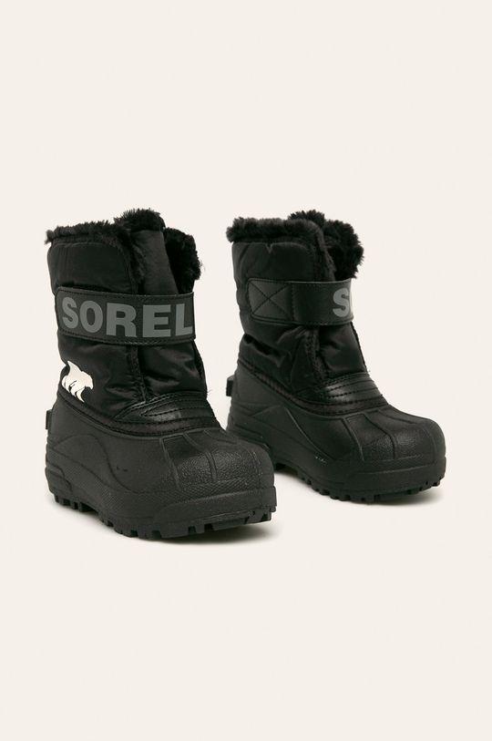 Sorel - Зимове взуття Childrens Snow Commander чорний
