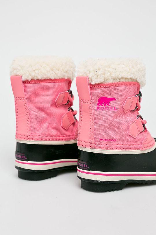 рожевий Sorel - Дитячі чоботи Childrens Yoot Pac