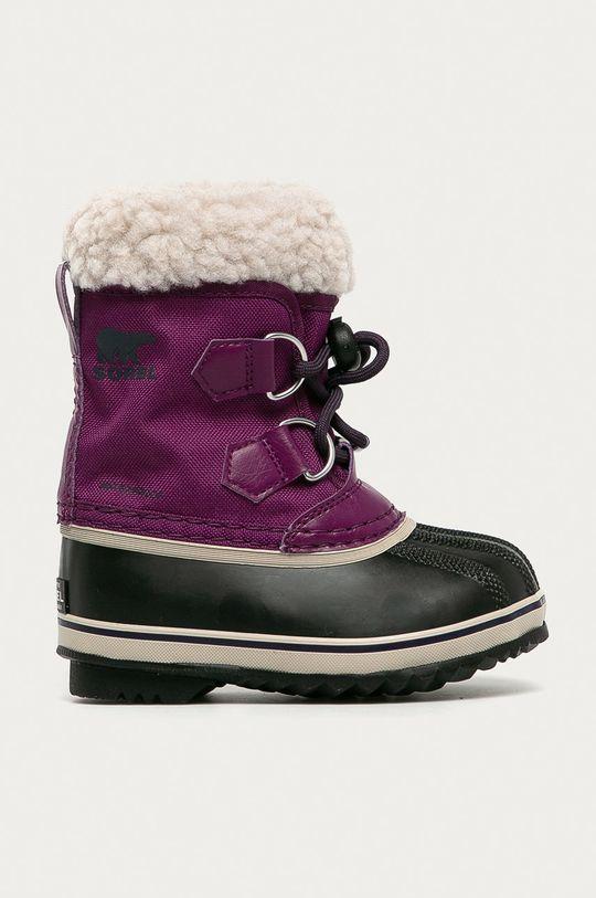 purpuriu inchis Sorel - Cizme de iarna copii Childrens Yoot Pac De fete