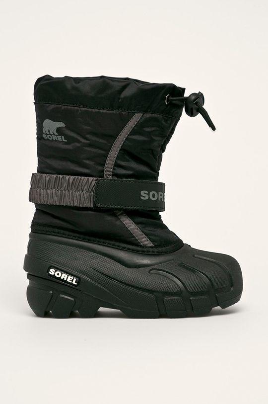 negru sorel - Pantofi copii Childrens Flurry De fete