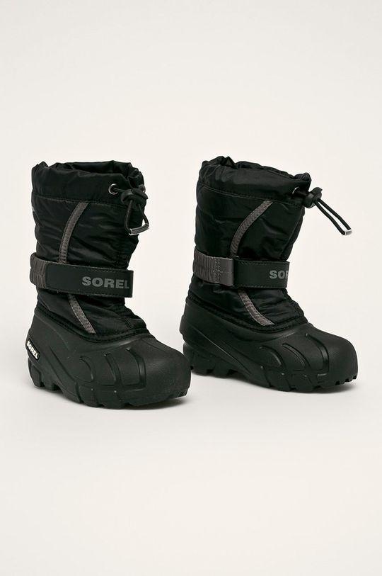 Sorel - Dětské boty Childrens Flurry černá