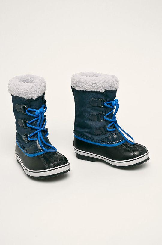 Sorel - Cizme de iarna copii Yoot Pac Nylon bleumarin