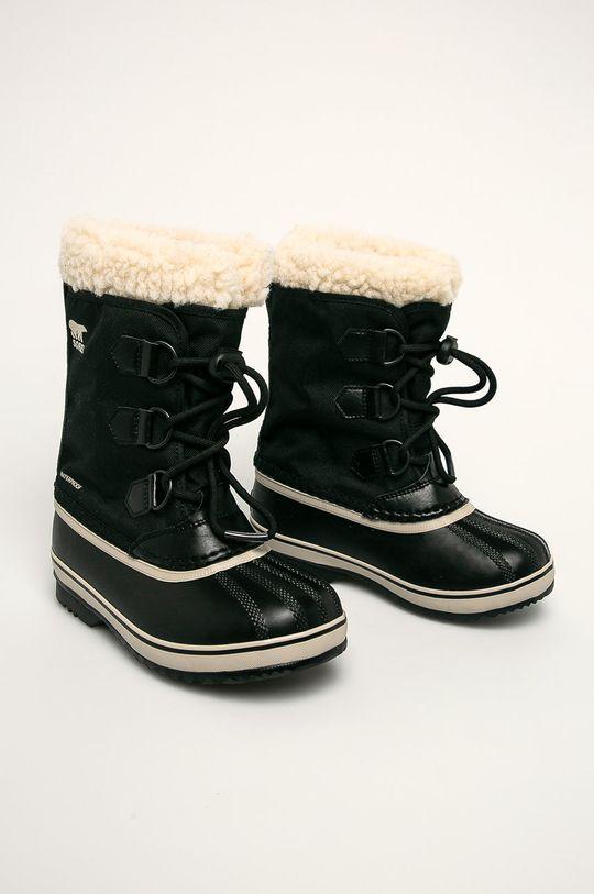 negru Sorel - Cizme de iarna copii Yoot Pac Nylon De fete