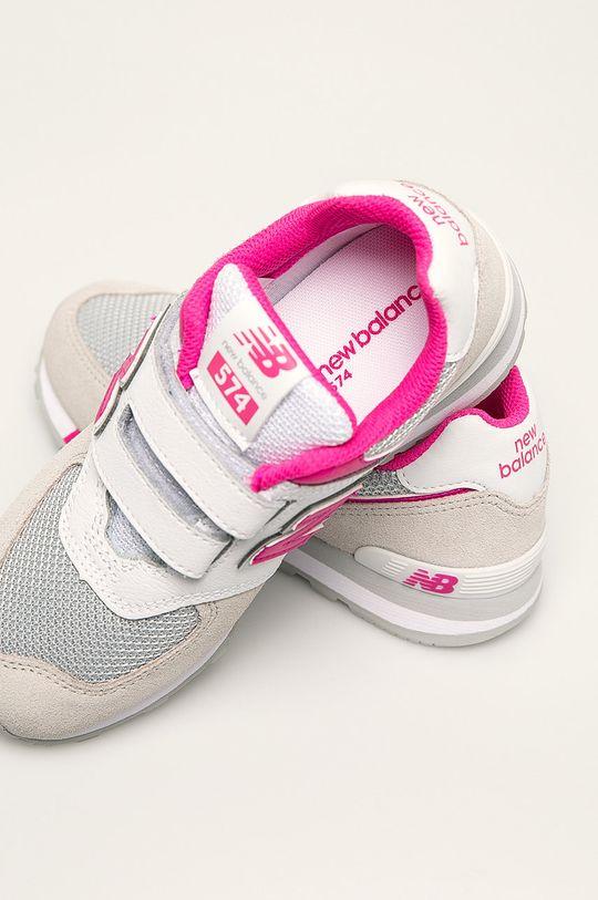 New Balance - Detské topánky YV574FNG  Zvršok: Textil, Prírodná koža Vnútro: Textil Podrážka: Syntetická látka